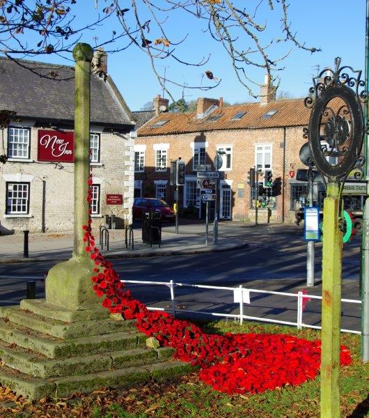 WI Poppies on the green